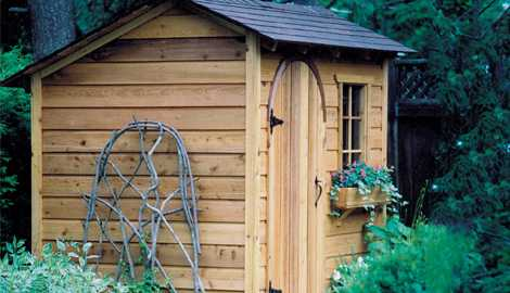 Wooden Garden Shed Plans and Designs Build It Today