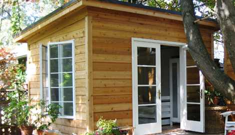 Backyard Studio Plans Build Your Own Today - Backyard cabin kits