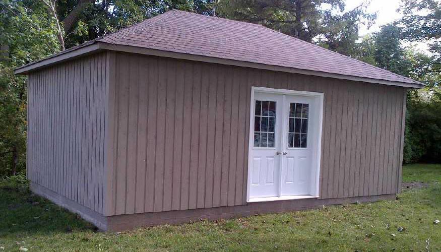 archer garage plans Summerwood ID. 3216-5.