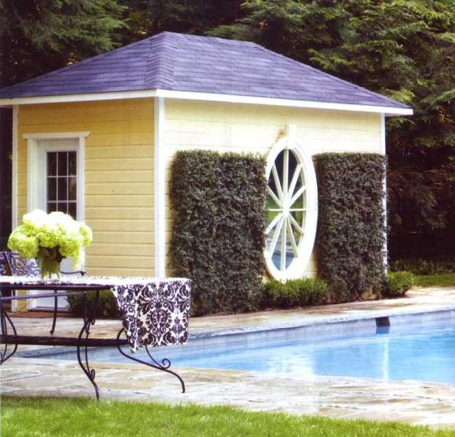 Sonoma pool house plans 1