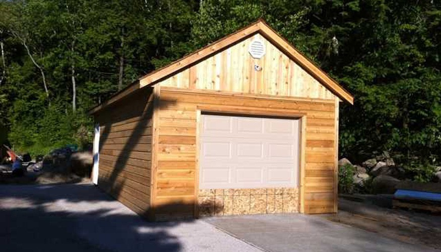 highlands garage plans Summerwood ID. 3572-5.