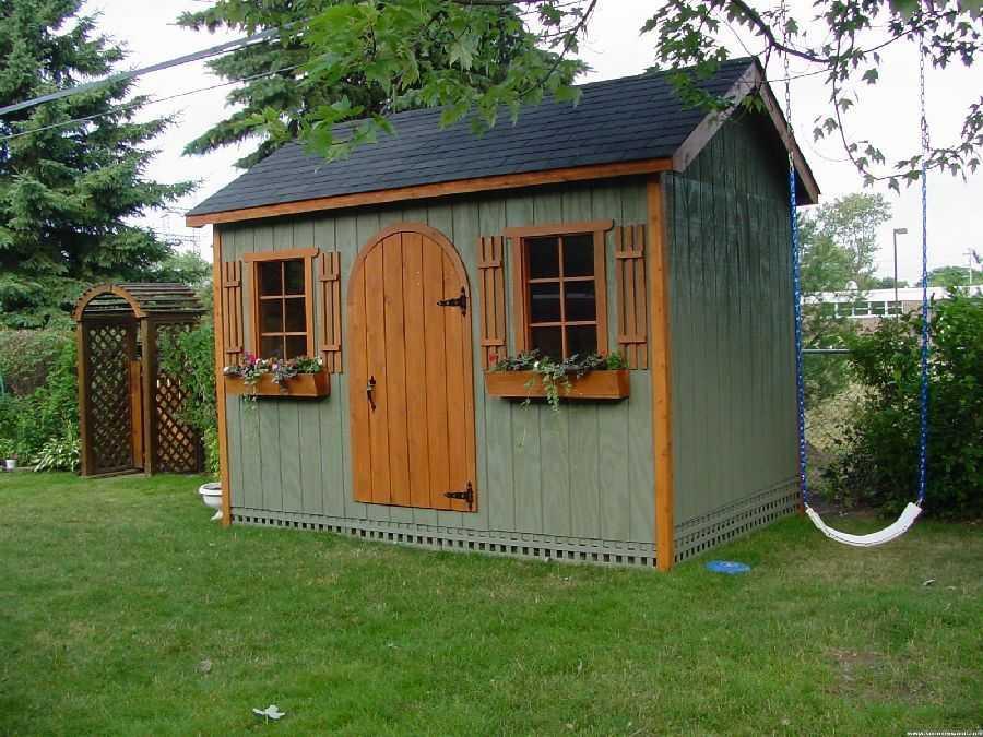 Modern Palmerston Garden Shed plans