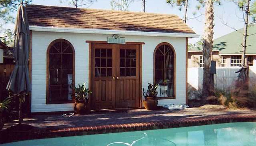 palmerston pool house plans Summerwood ID. 2715-3.