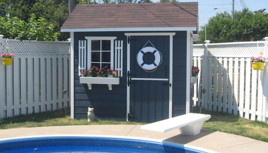 palmerstone pool house plans Summerwood ID. 2729-1.