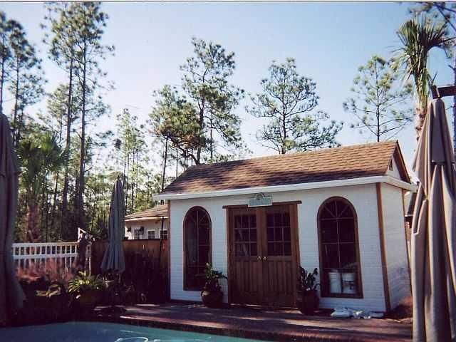 Palmerston pool house designs