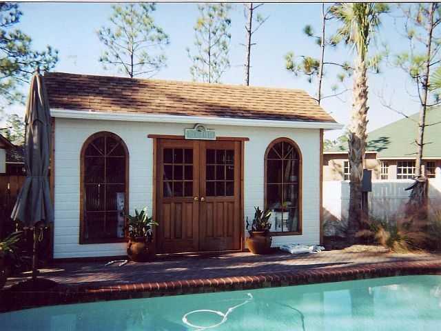 Palmerston pool cabana plans