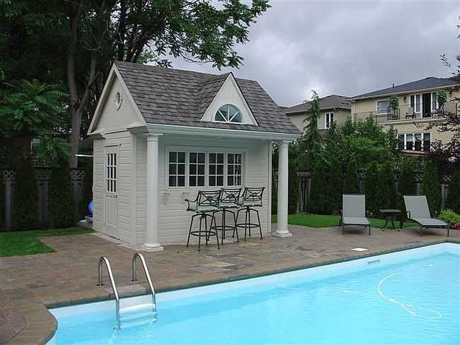 Windsor pool house plans