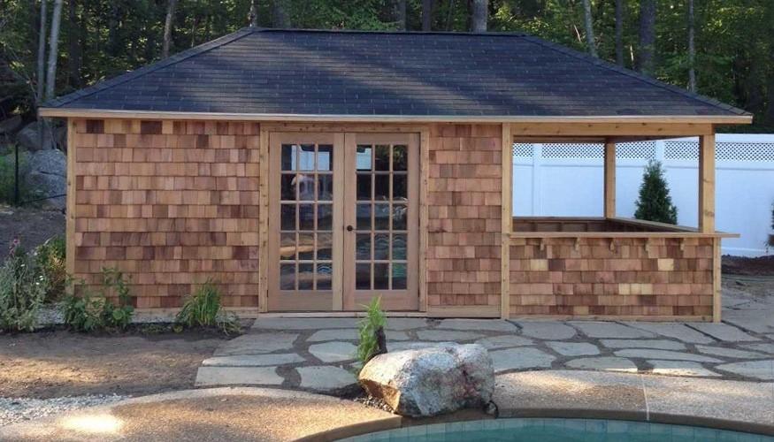 surfside pool house plans Summerwood ID. 2659-5.