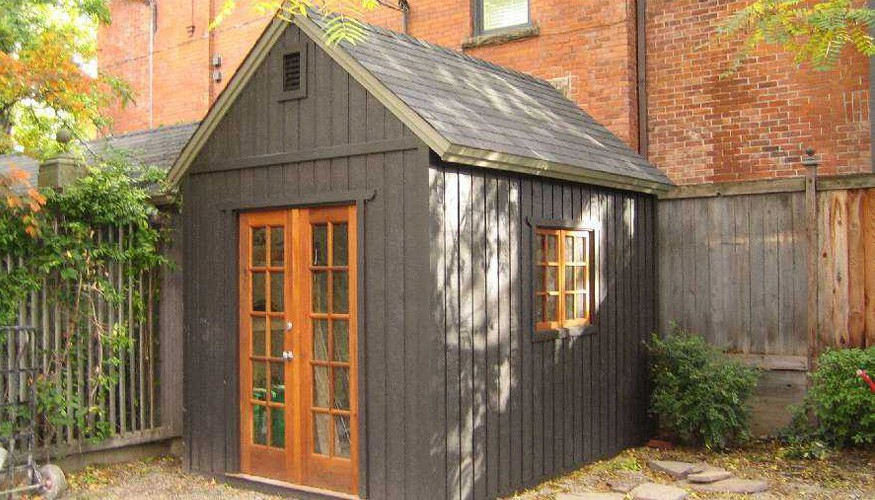 telluride garden shed plan Summerwood ID. 2817-4.