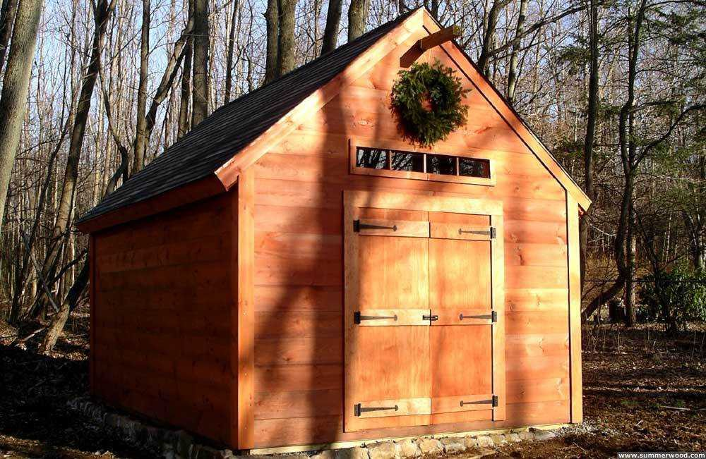 Telluride shed plans 1