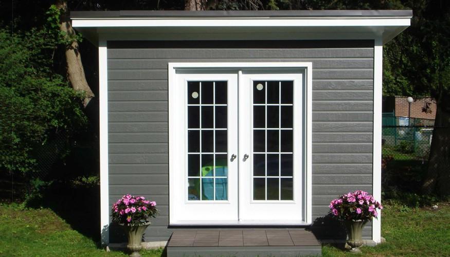urban studio garden shed plan Summerwood ID. 2733-3.