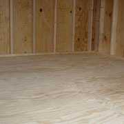"1/2"" Pressure Treated Plywood Floor"