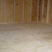 """1/2"""" Pressure Treated Plywood Floor"""