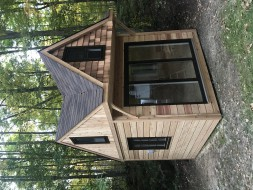 backyard 10 x 10 Bala Bunkie built with True North Plans - ID number 255857-1
