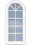 Arch+ 8-Pane Window (fixed)