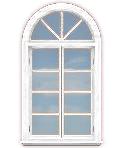 Arch+ Casement Window