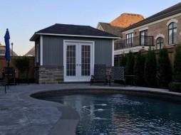 Sonoma Pool House Plan
