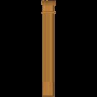 Cedar Pilaster