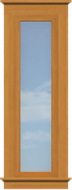 CO5 Contemporary Sidelite Window (Fixed)