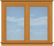CO6 Contemporary Extra Large Opening Window (Casement)