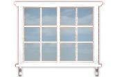 Double Casement Bar Window