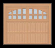 GD501 - Coach Style Garage Door 501