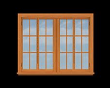 GH4 14' San Cristobal Casement Window
