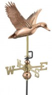 Copper Duck Weathervane outdoor shed hardware