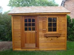 Palmerston Cedar Shed plans 1