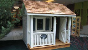 Peach Pickers Porch playhouse plans