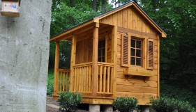 Peach Pickers Porches playhouse plans
