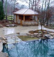 Surfside pool house designs