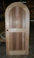 SD4 Solid Cedar Arched Single Door