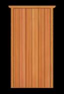D1 Standard Single Door
