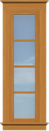 TR5 Traditional Sidelite Window (Fixed)