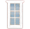 WV-W2 Single Casement Window