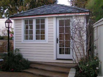 Sonoma pool house plans 1
