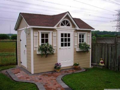 Medium Palmerston Garden Shed plans