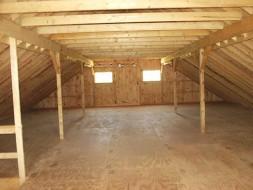 """5/8"""" T&G Spruce Plywood Loft"""