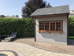 Glen Echo 8 x 10 pool house built with True North Plans- ID number 254912-2