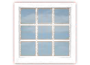 9-Pane Picture Window (fixed)