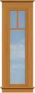 AC5 A/C Sidelite Window (Fixed)