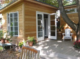 Cedar Siding Urban cabin plans