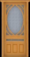 D18 Single Screen Door