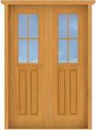 DD6 Double Deluxe 18-Lite Doors