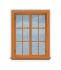 P1 Double Casement Window
