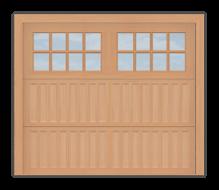 GD502 - Coach Style Garage Door 502
