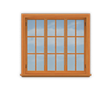 GH3 12' San Cristobal Casement Window