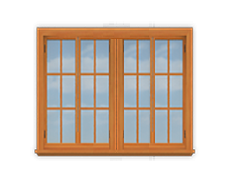 GH4 14' San Cristobal Casement Window