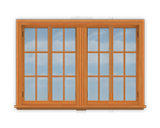 GH5 16' San Cristobal Casement Window